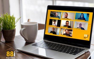 88i Seguradora Digital recebe clientes, parceiros e investidores em seu Webinar de Lançamento